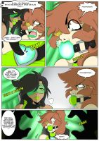 CAUGHT YOU!!!  Page 11 by GreenLeona