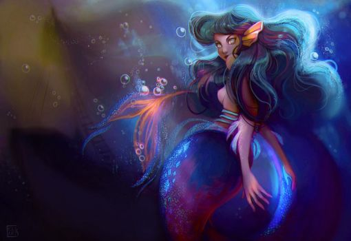 Deep sea by Celiarts