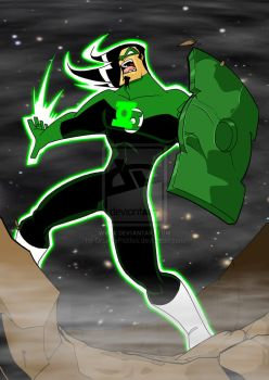 Brian the GreenLantern Strikes by TheBoo