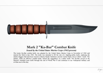 Ka-Bar Combat Knife by Artifician