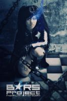 black rock shooter cinemagraph by norumi