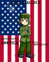 South Park WWII Kyle America by SouthParkPhilosopher