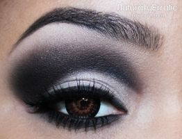 Dramatic Black Smokey Eye by NaturallyErratic