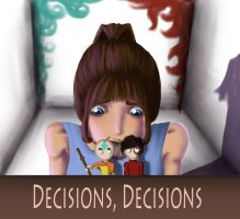 Decisions. Decisions. by balletbunhead20