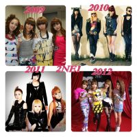 2NE1 4 YEAR by XvijaX