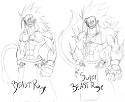 Beast-Sketch Transformations by RageVX