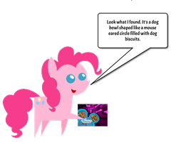 Pinkie founds the Disney Channel Dog Biscuit Logo by jared33
