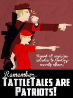 Commission: TattleTales Are Patriots by VoidBurger