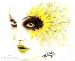 Sunflower by Astaldo-Fea