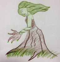Tree Person by DelpheneLightfoot