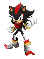 Shadow Sonic Boom Style Version 2 by Silverdahedgehog06