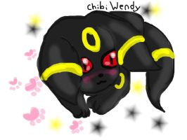 Umbreon by ChibiWendy