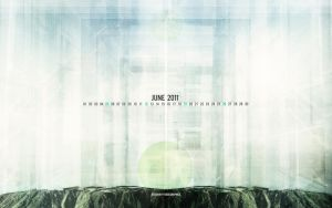 June 2011 Wallpaper Set by fudgegraphics