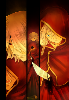 Pandora Hearts. My obeisance by ShionMion