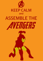 Keep Calm and Assemble the Avengers by Raffesmind