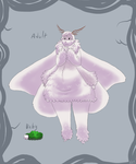 Poodle Moth Anthro by Mechasupial