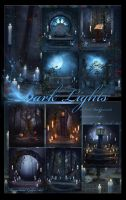 Dark Lights backgrounds by moonchild-ljilja