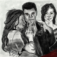 Bella and Jake by MyCurtainHauntsME
