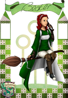 Andra - Slytherin Beater by just-sora