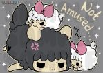 TPS: Grumpy Sheep - Bag Design by MoogleGurl