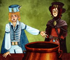 Controversy about the thickness of cauldrons fund by Clef-en-Or