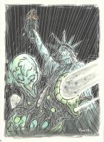 MONSTERS !! INVASION AMERICA  by leagueof1