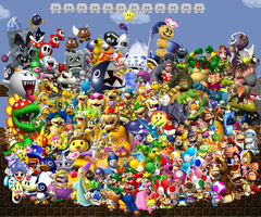 One big Mario Party by sonictoast