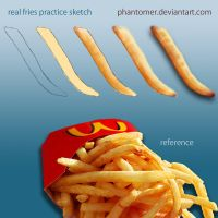 Fast Food Fries by Phantomer
