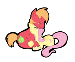 fluttermac sticker by MissBluebee