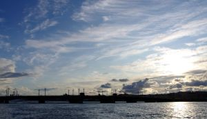 Clouds over Neva by voldemometr