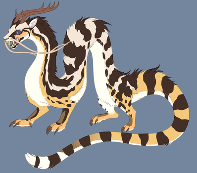 Noodle Dragon Adopt ( Sold ) by CorruptedFox