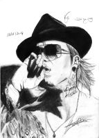 Kyo (Dir en grey) by Crowsanthemum