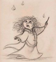 Merida and the Wisps - WIP by Mitch-el