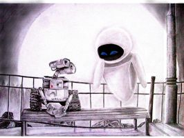 wall E by devilwithin91
