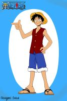 Monkey D. Luffy by Shinigami-sekai