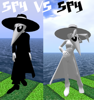 Spy vs Spy in 3D? by WAtheAnum