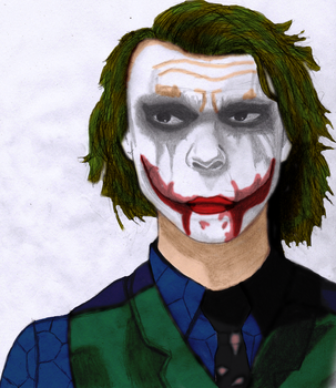 Joker Colored by ThatTMNTchick