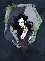 Bellatrix Lestrange by SilentEve
