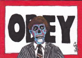 They Live 'OBEY' PSC by Dangerskillz