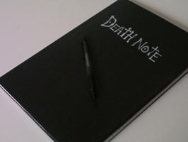 Death Note book by HoboBroccoli
