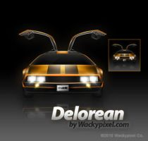 Delorean by wackypixel