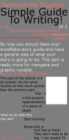 Easy To Fallow Writing Tut- p2 by Nevermore-Studios