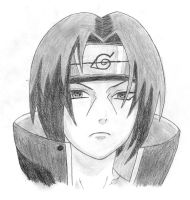 Itachi Uchiha by cheshire5