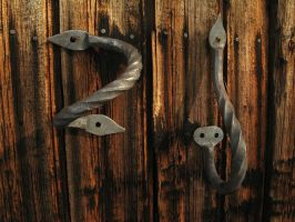 Door handles by taika-kim