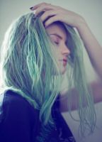 Pained Blue by VallyDream