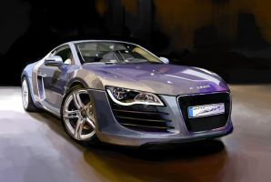 Audi R8 by darkdamage