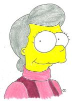 Mother Simpson by TheSimpsonsFanGirl