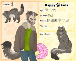 Happy Tails - Eli by GetGay