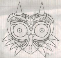 Majora's Mask- Pencil by Fab-912