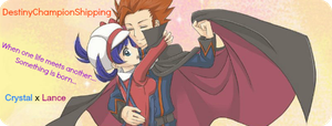 DestinyChampionShipping : Crystal x Lance : Banner by Kanto-Chan